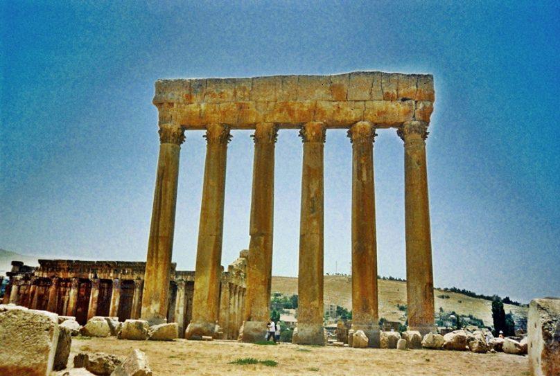 Templo de Júpiter (Gobernación de Baalbek-Hermel, Líbano)