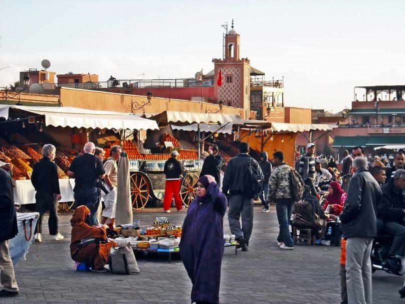 Plaza Jemaa el-Fna (Marrakech, Marruecos)