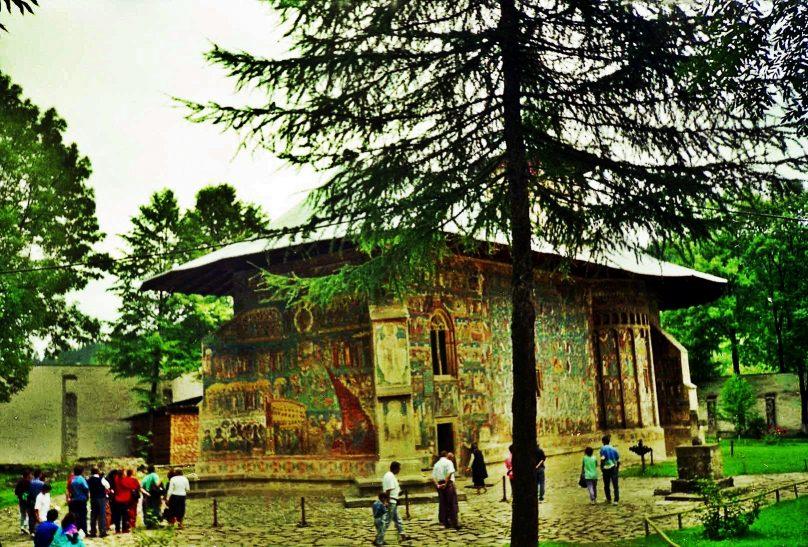 Monasterio de Voroneț (Distrito de Suceava, Rumanía)