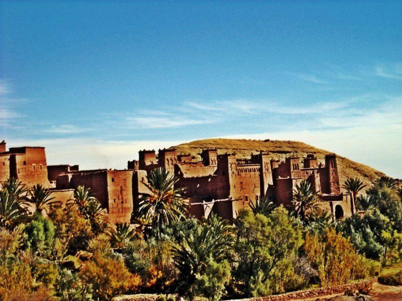 Ksar Aït Benhaddou (Región de Souss-Massa, Marruecos)