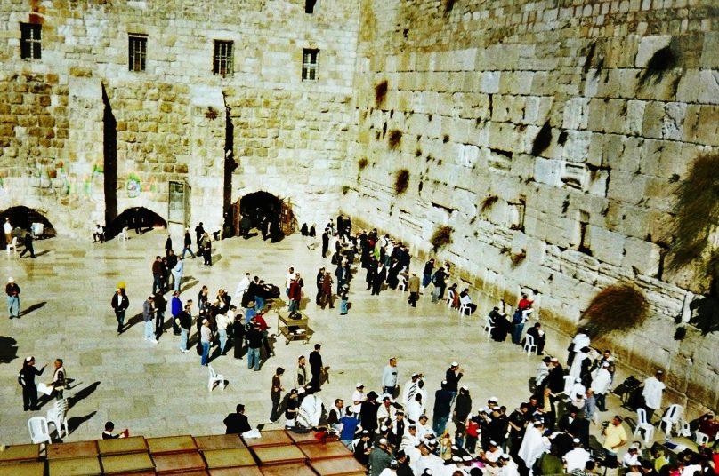Muro de las Lamentaciones (Jerusalén, Palestina)