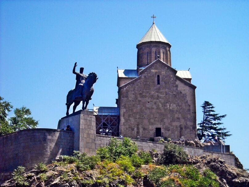 Iglesia de Metekhi (Tbilisi, Georgia)
