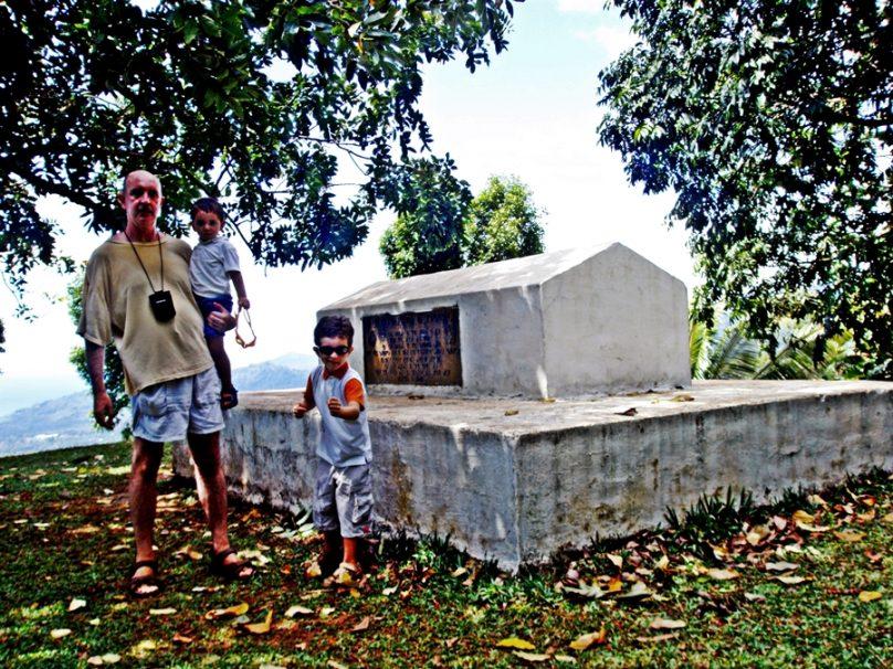 Tumba de Stevenson (Distrito de Tuamasaga, Samoa)
