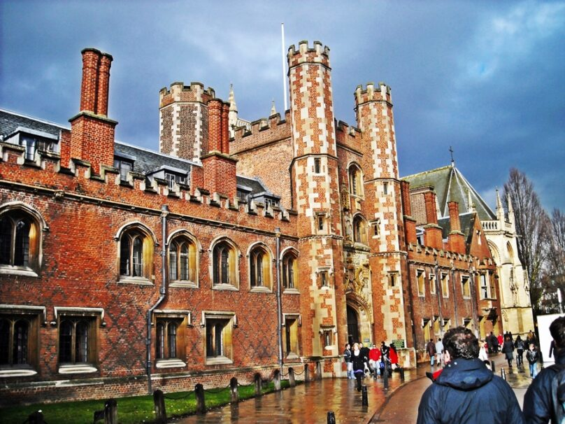 Universidad de Cambridge (Cambridge, Reino Unido)