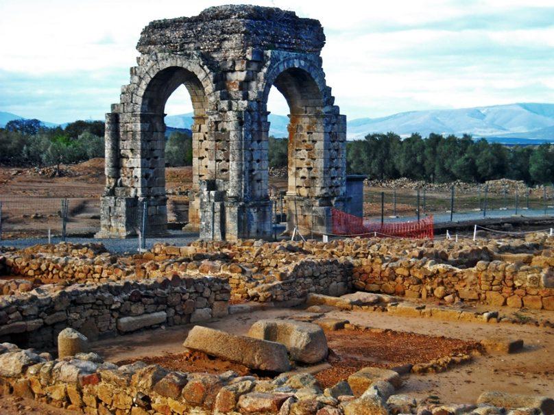 Arco de Cáparra (Extremadura)