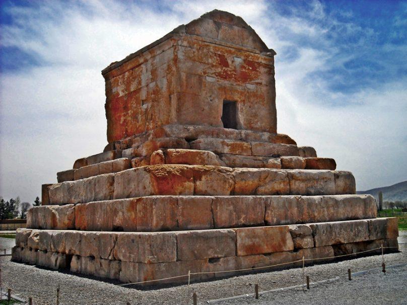 Tumba de Ciro el Grande (Fars, Irán)