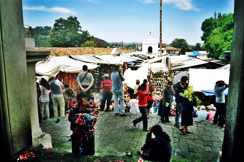 Mercado local (Chichicastenango, Guatemala)
