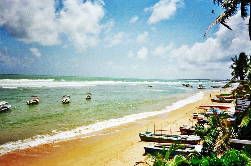 Playa de Hikkaduwa (Distrito de Galle, Sri Lanka)