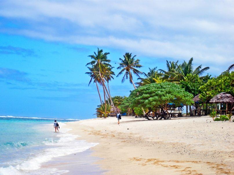 Playa de Lalomanu (Distrito de Atua, Samoa)