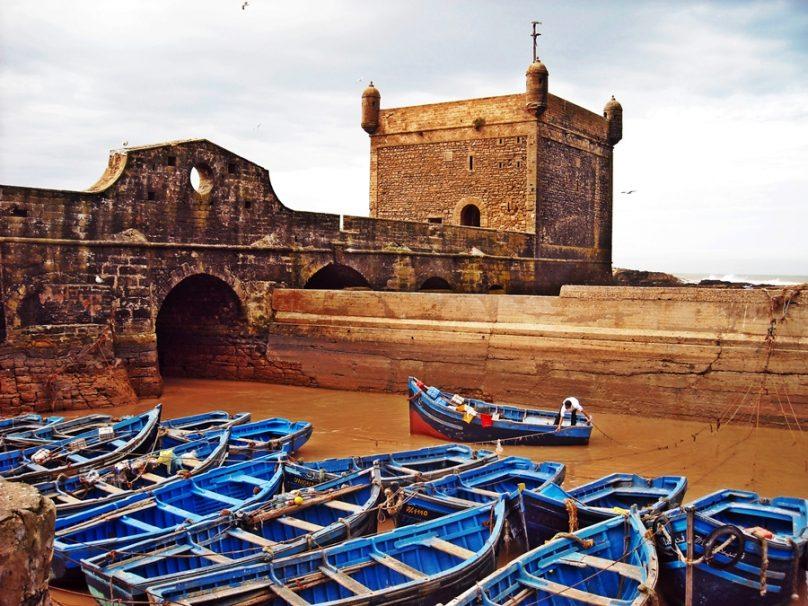 Puerto de Essaouira (Essaouira, Marruecos)
