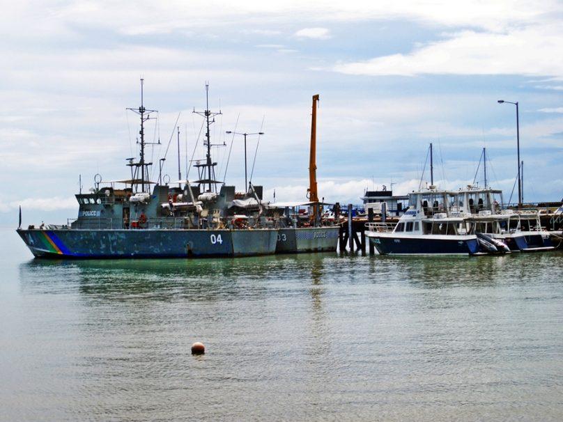 Puerto de Honiara (Honiara, Islas Salomón)