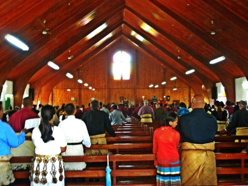 Celebración religiosa (Tonga)