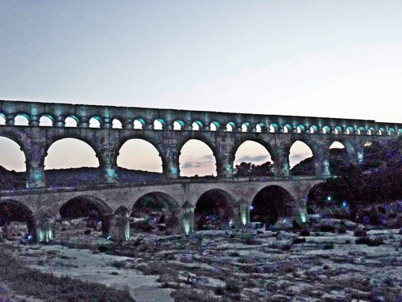 Pont du Gard (Región de Occitanie, Francia)