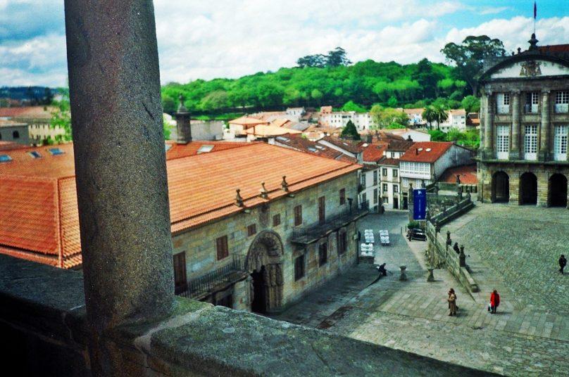 Plaza del Obradoiro (Santiago de Compostela, Galicia)