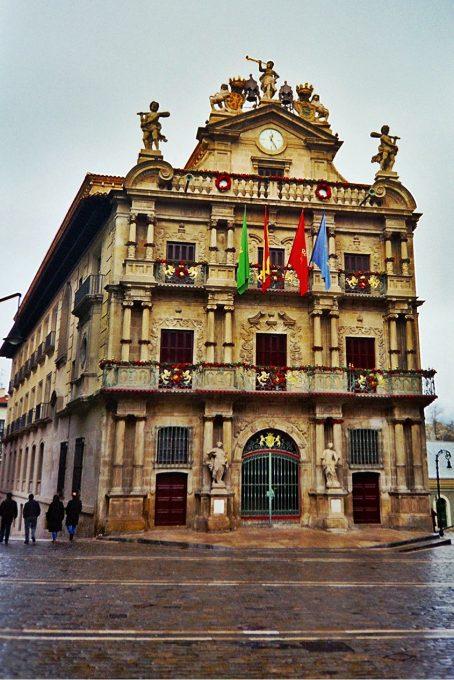 Ayuntamiento de Pamplona (Pamplona, Navarra)