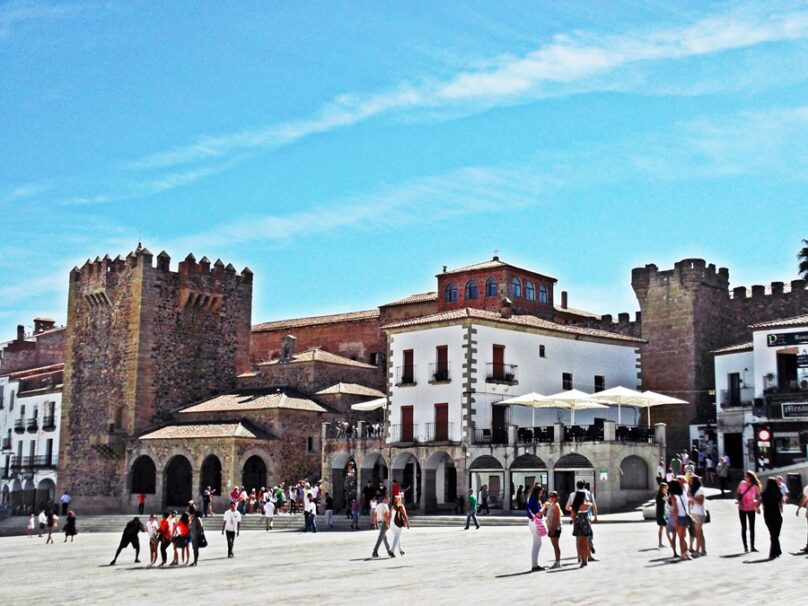Plaza Mayor (Cáceres, Extremadura)