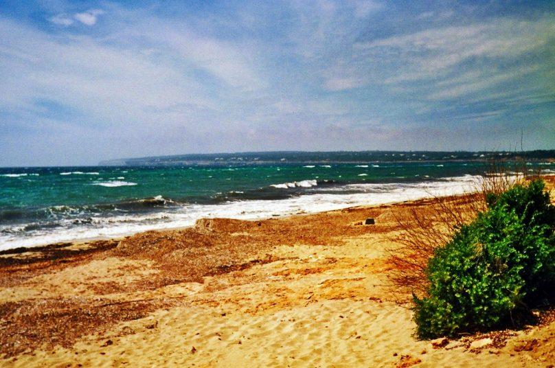 Playa de Migjorn (Municipio de Formentera, Islas Baleares)