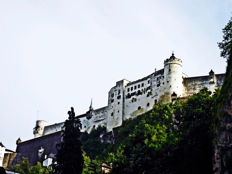 Fortaleza de Hohensalzburg (Salzburgo, Austria)