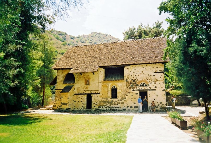 Iglesia de Agios Nikolaos tis Stegis (Distrito de Nicosia, Chipre)