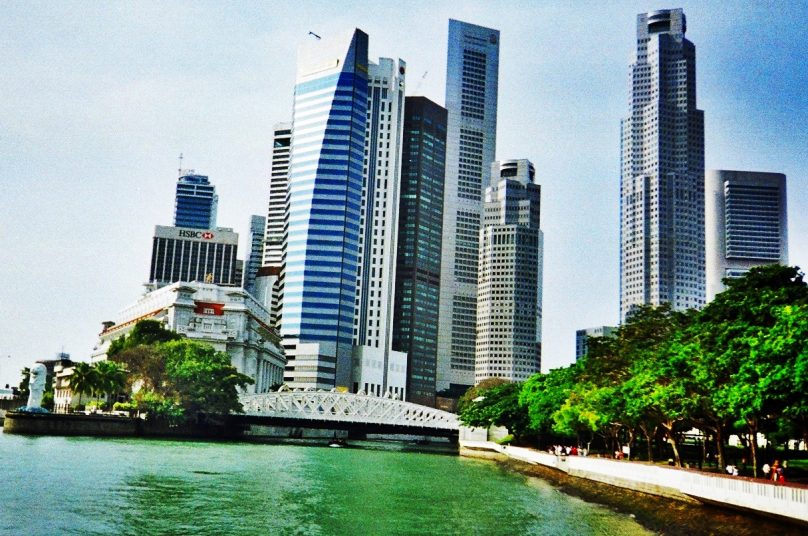 Rascacielos de Singapur (Consejo Central Singapore, Singapur)