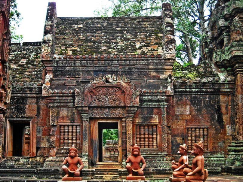 Banteay Srei (Provincia de Siem Reap, Camboya)