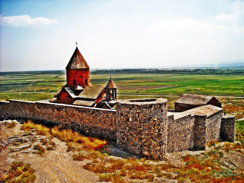 Monasterio de Khor Virap (Provincia de Ararat, Armenia)