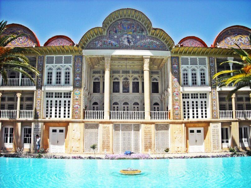 Jardín de Eram (Shiraz, Irán)