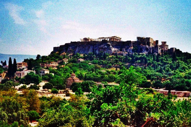 Acrópolis de Atenas (Atenas, Grecia)