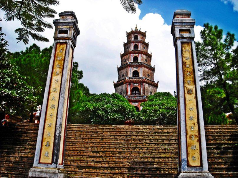 Chùa Thiên Mụ (Huế, Vietnam)