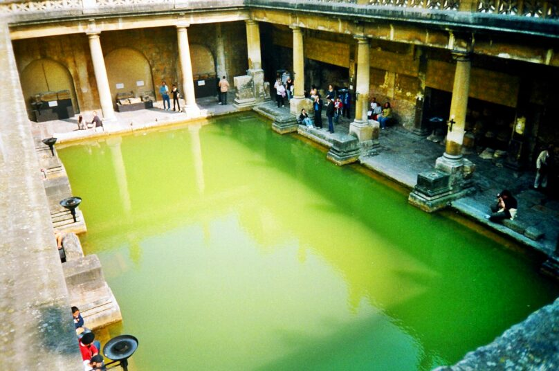 Termas romanas (Bath, Reino Unido)