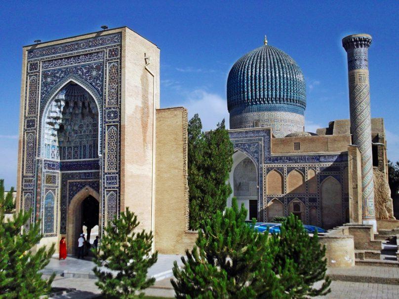Mausoleo de Tamerlán (Samarcanda, Uzbekistán)