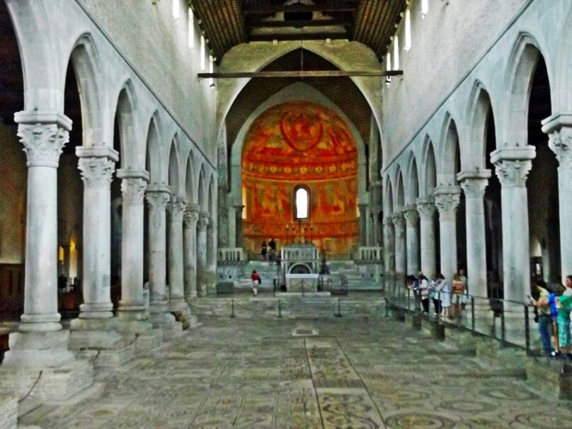 Basílica patriarcal de Aquileia (Región de Friuli-Venezia Giulia, Italia)