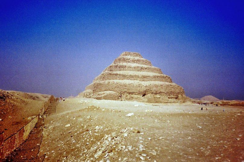Pirámide de Zoser (Gobernación de Giza, Egipto)
