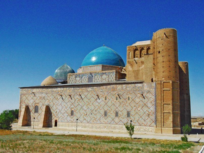 Mausoleo de Khoja Ahmed Yasawi (Turkestan, Kazajstán)