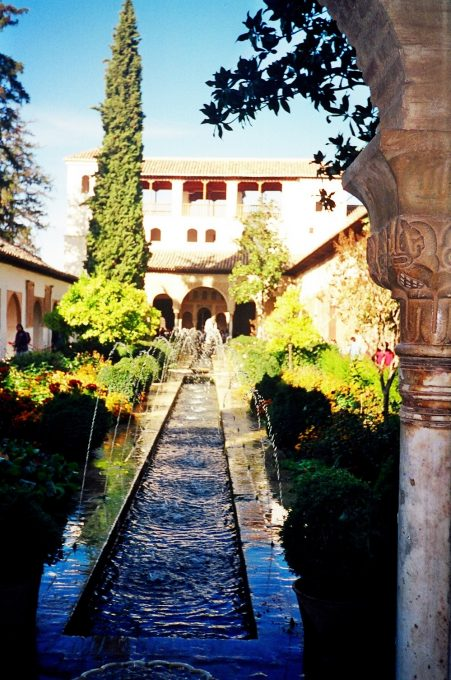 Jardines del Generalife (Granada, Andalucía)