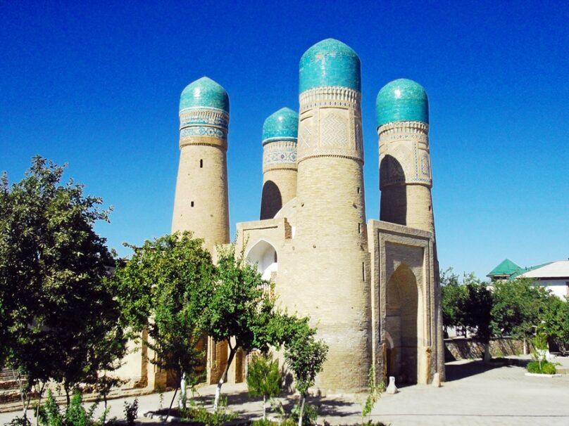 Madrasa Chor-Minor (Bukhara, Uzbekistán)