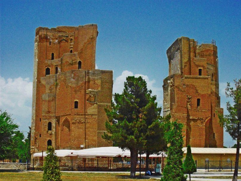 Palacio Ak-Saray (Shahrisabz, Uzbekistán)