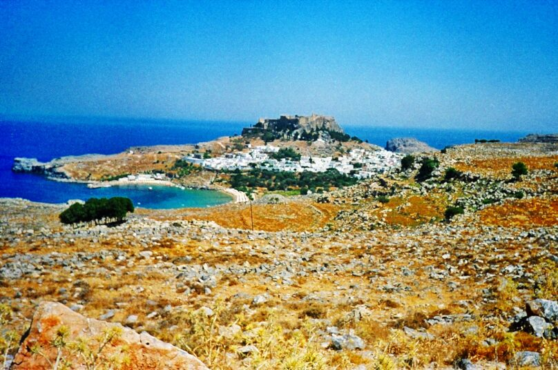 Acrópolis de Lindos (Lindos, Grecia)