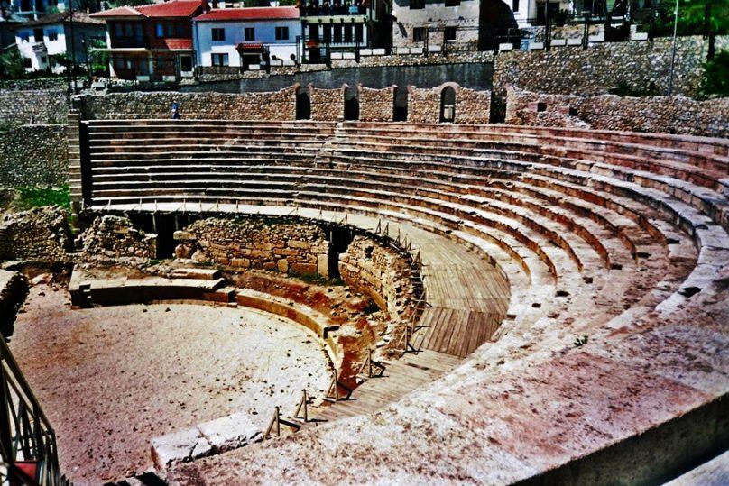 Teatro de Lychnidos (Ohrid, Macedonia del Norte)