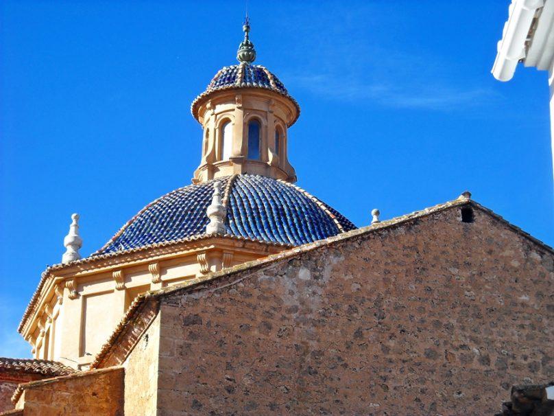 Iglesia de Nuestra Señora de los Ángeles (Chelva, Comunidad Valenciana)