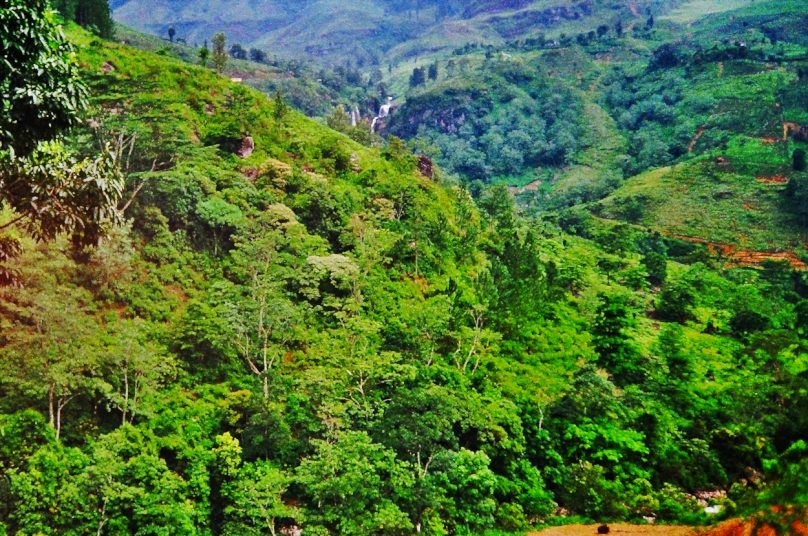 Mesetas centrales (Sri Lanka)