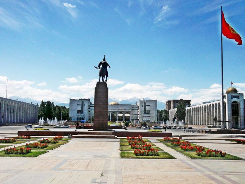 Plaza Ala-Too (Bishkek, Kirguistán)