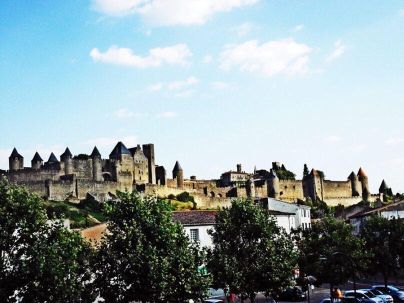 Ciudadela medieval (Carcassonne, Francia)