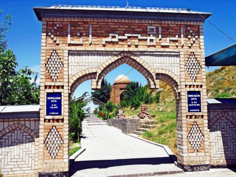 Mausoleo de Ibrahim Ata (Sayram, Kazajstán)