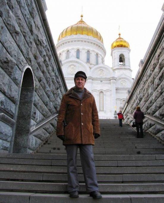 Catedral de Cristo Salvador de Moscú (por Jorge Sánchez)
