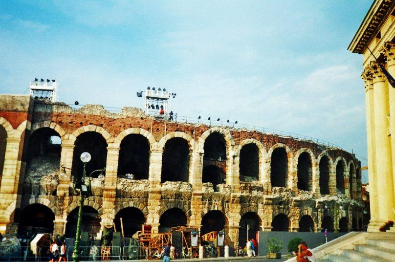 Anfiteatro de Verona Augusta (Verona, Italia)