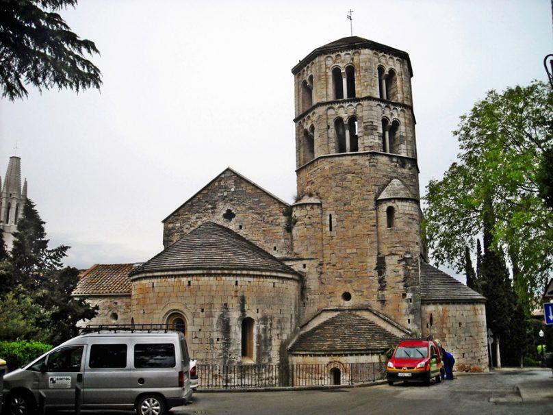 Monasterio de Sant Pere de Galligants (Gerona, Cataluña)