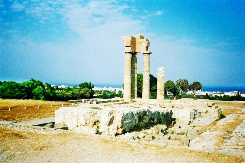 Ciudad de Rodas (Egeo Meridional, Grecia)