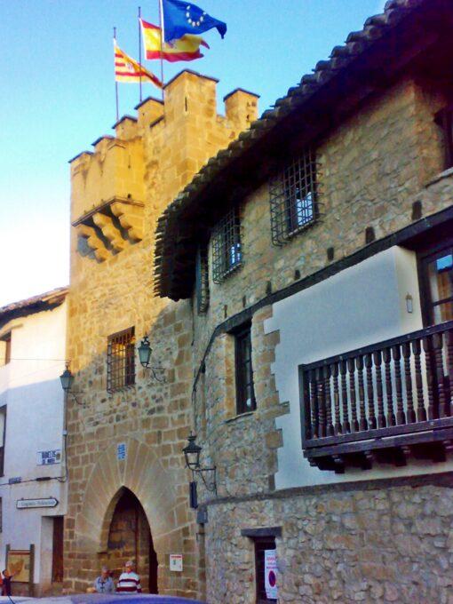 Portal de San Antonio (Rubielos de Mora, Aragón)