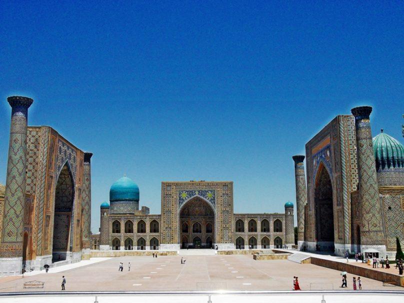 Plaza de Registán (Samarcanda, Uzbekistán)